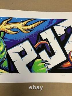 Pearl Jam Pj20 Billboard Poster Munk One/maxx242 1er Ed