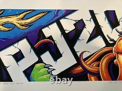 Pearl Jam Pj20 Billboard Poster Munk One/maxx242 1er Ed. Mint/near Mint 200/200