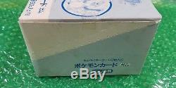 Pokemon 16 Packs Sealed Topsun Booster Avec Original Box! Vert Retour Cards! 1995