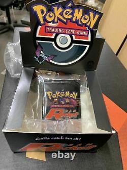 Pokemon Team Rocket 1ère Édition Booster Pack Et Original Booster Box
