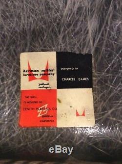 Première Édition Eames Herman Miller Président Shell C. 1949-1950
