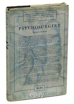 Psychochirurgie Par Walter Freeman & James Watts Première Édition 1942 Lobotomy