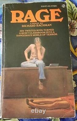Rage Un Roman De Richard Bachman Rare Collectable