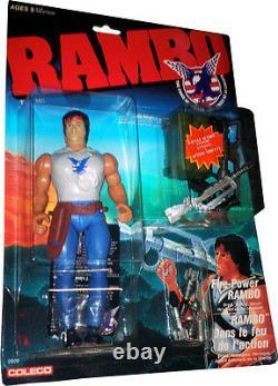 Rambo La Force De La Liberté La Force Du Feu-pouvoir Rambo Figure Nouveau! Mosc