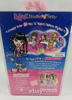 Rare Bratz Slumber Party Jade 2002 1ère Édition Original Mga Fashion Doll Nrfb