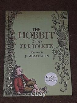 Rare! Le Hobbit Signé J. R. R Tolkien Jemima Catlin Illustrated