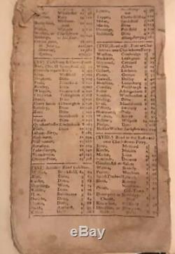 Rare Première Édition De Benjamin Franklin Epitaph! Ames Almanach Pauvre Richard 1771