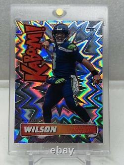 Russell Wilson 2019 Football Absolu Kaboom! Seahawks #k-rw Ssp Cas Rare Touché