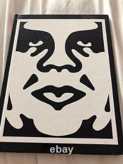 Shepard Fairey Signed Book Project 0001 Obey Giant Street Art Book Kaws