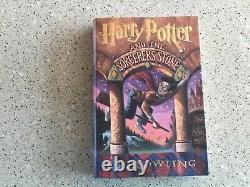 Signé - Authentifié Sorcerer's Stone J. K. Rowling 1ère Édition 1ère Impression