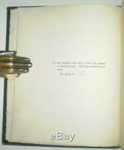Signé & Numérotant, 1907, Première Édition, Konx Om Pax, Par Aleister Crowley, Occulte