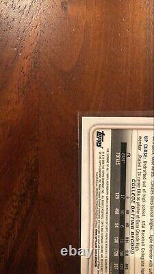 Spencer Torkelson 2020 Bowman Chrome Draft 1ère Édition Sur Carte Auto #/30 Tigers