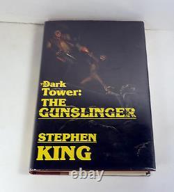 Stephen King The Gunslinger Signé Autographe 1ère Édition/1er Livre D'impression