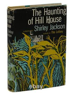 The Haunting Of Hill House Shirley Jackson Première Édition 1959 1st Printing