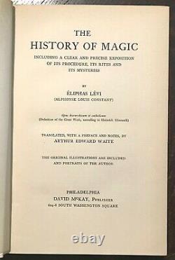 The History Of Magic Par Eliphas Levi First Us Ed, 1914, Grimoire Magick Spells
