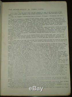 The New Equinox, Vol 4 No 2, Thélème, Occultisme, Crowley Aleister, Magick, 1979