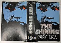 The Shining De Stephen King Uk First Edition 1er/1er