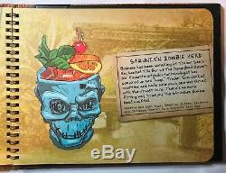 Trader Menu Drink Sam Mettant En Vedette 1ère Édition Mugs Disneyland Hôtel Tiki Bar