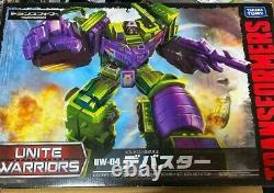 Transformateurs Takara Tomy Unite Warriors Devastator Uw04 Figure Japon Authentique