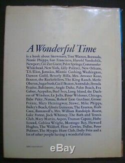 Un Temps Merveilleux Un Portrait Intime De La Bonne Vie De Slim Aarons 1st Ed