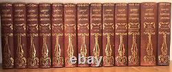 Vieux Cuir Leatherbound Books Antique Antique Decor Rustic Decor Rare Set