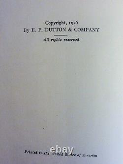 Winnie The Pooh Par A A Milne First Edition First Print Ernest H. Shepard 1926