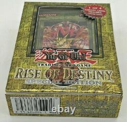 Yu-gi-oh Édition Spéciale Rise Of Destiny Scelled Anglais Original Ed New Yugioh